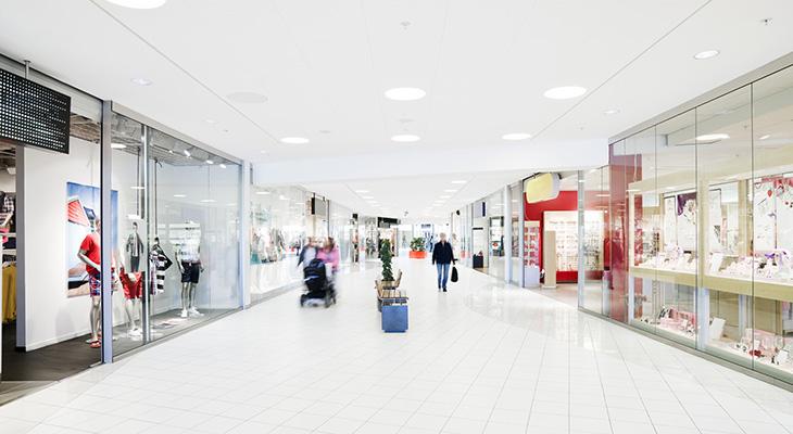 espaços comerciais
